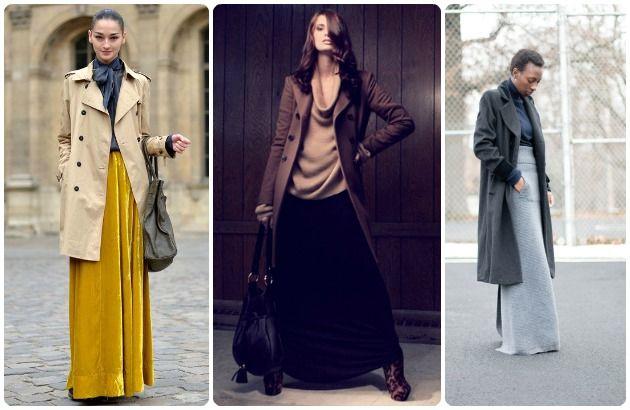Kako da nosite DUGE suknje i tokom JESENI   Mogu Ja To