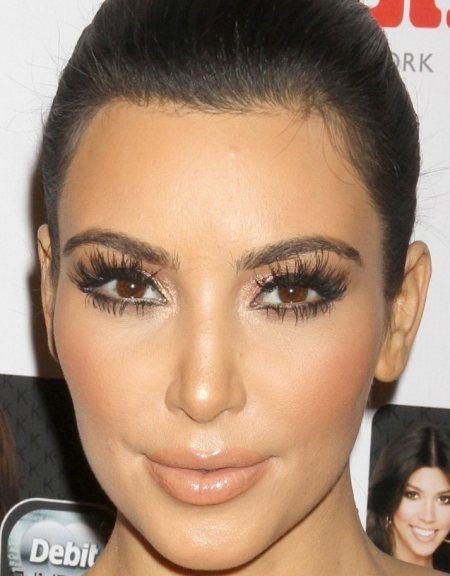 Kim kardashian natural makeup 2014
