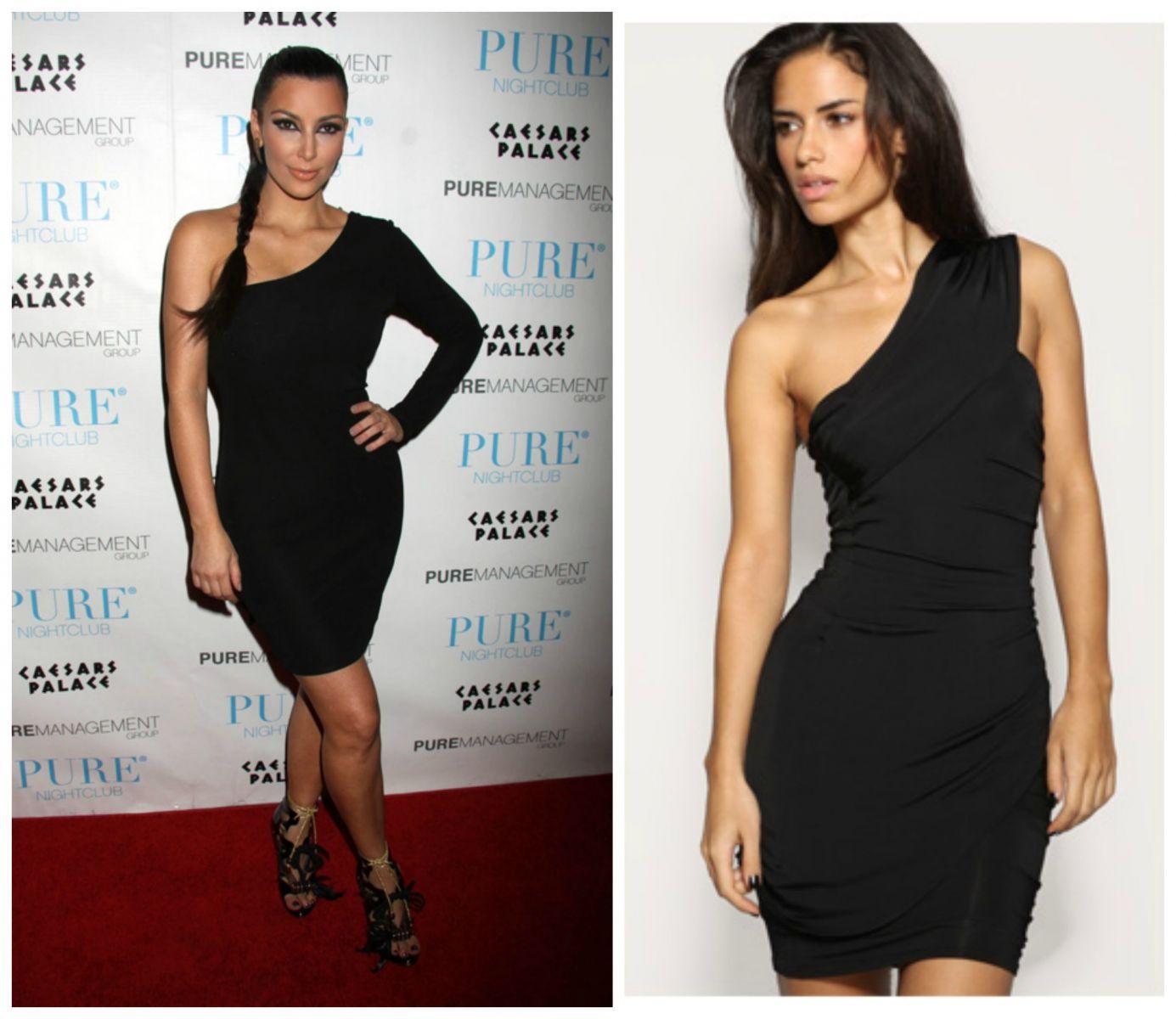 Haljine Na Jedno Rame 4 Predloga Stil Kim Kardashian